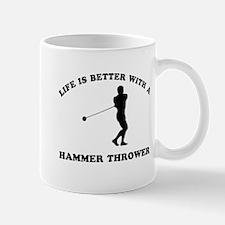 Hammer Thrower vector designs Mug