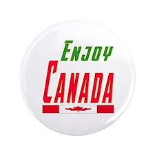 """Canada Designs 3.5"""" Button"""