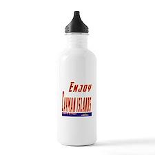 Cayman Islands Designs Water Bottle