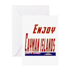 Cayman Islands Designs Greeting Card