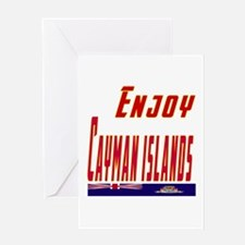 Cayman Islands Designs Greeting Card