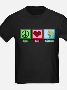 Peace Love Mermaids T