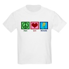 Peace Love Mermaids T-Shirt