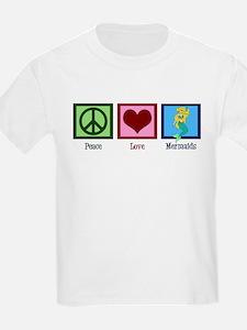 Peace Love Mermaids T-Shirt