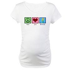 Peace Love Mermaids Shirt