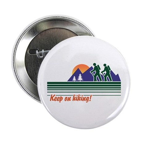 Keep on Hiking Button