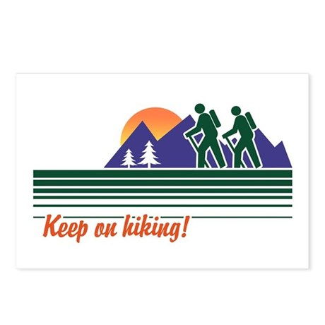 Keep on Hiking Postcards (Package of 8)