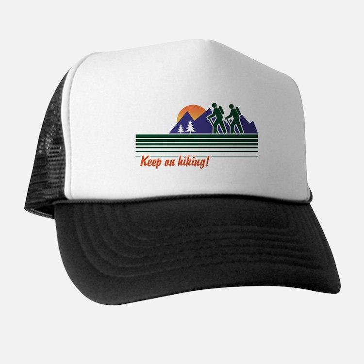 Keep on Hiking Trucker Hat