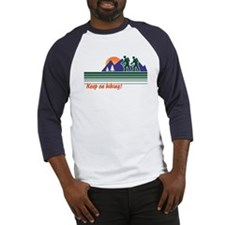 Keep on Hiking Baseball Jersey