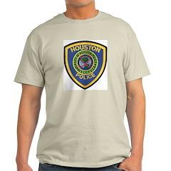 Houston Police Ash Grey T-Shirt