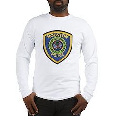 Houston Police Long Sleeve T-Shirt
