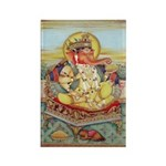 Ganesh Seated on Cushion Magnets (10 pack)