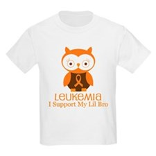 Lil Bro Leukemia Support T-Shirt