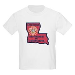Louisiana Corrections Kids T-Shirt