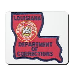 Louisiana Corrections Mousepad
