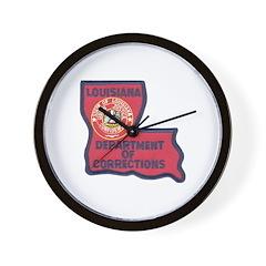 Louisiana Corrections Wall Clock