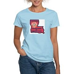 Louisiana Corrections Women's Pink T-Shirt