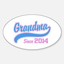 Grandma Since 2014 Decal