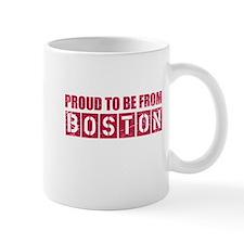 Proud to be from Boston Mug