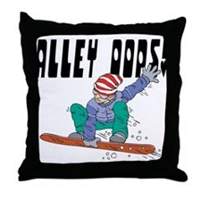 Alley Oops! Throw Pillow