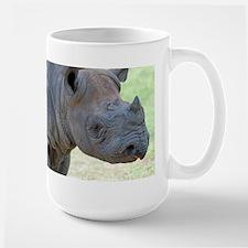 Black Rhino Large Mug