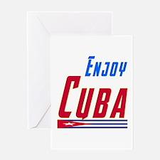 Cuba Designs Greeting Card