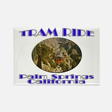Palm Springs Tram Ride Rectangle Magnet