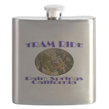 Palm Springs Tram Ride Flask