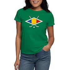 Romanian Ice Hockey Flag T-Shirt