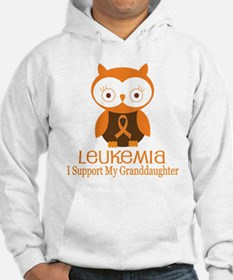 Granddaughter Leukemia Support Hoodie