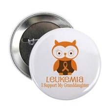 "Granddaughter Leukemia Support 2.25"" Button"