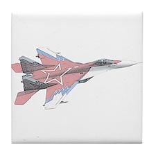 Russian MiG Tile Coaster