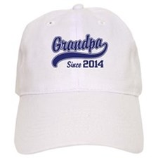 Grandpa Since 2014 Baseball Cap