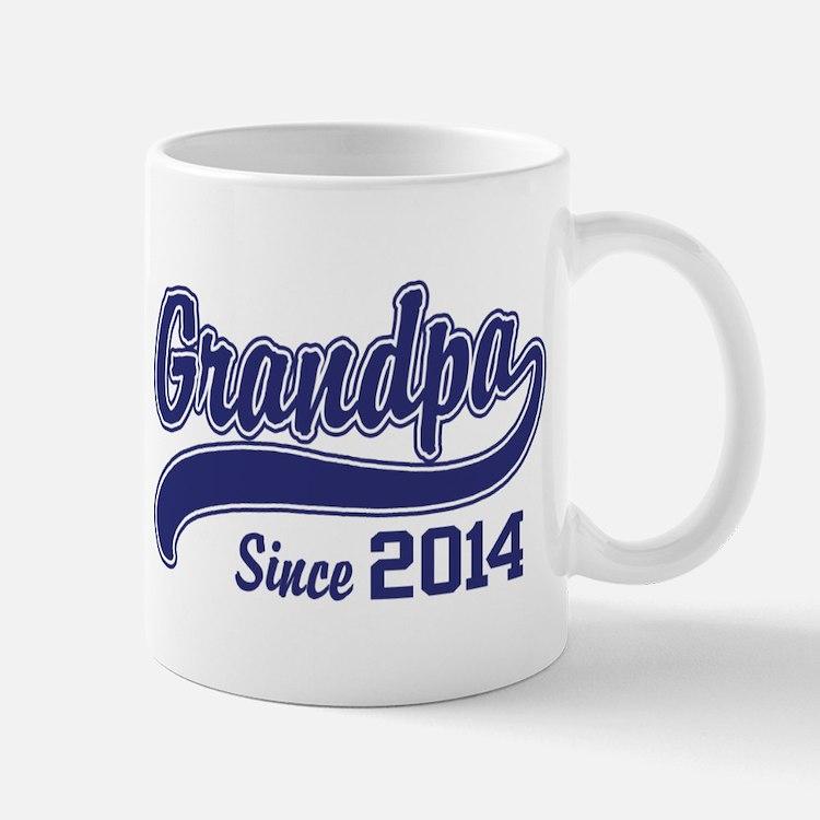 Grandpa Since 2014 Mug