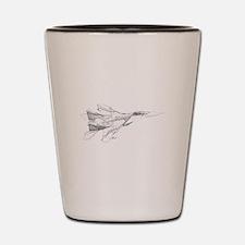 Russian MiG Shot Glass