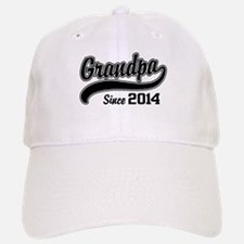 Grandpa Since 2014 Baseball Baseball Cap