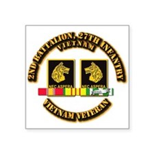 Army - 2nd Battalion, 27th Infantry w SVC Ribbons
