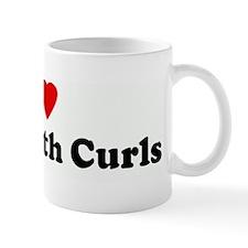 I Love Boys With Curls Mug