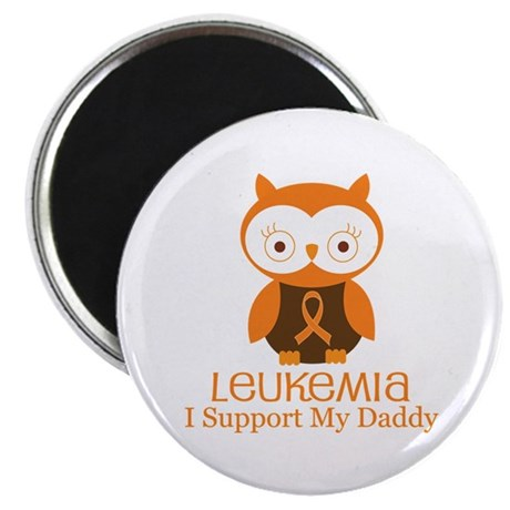 "Daddy Leukemia Support 2.25"" Magnet (10 pack)"