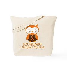 Dad Leukemia Support Tote Bag