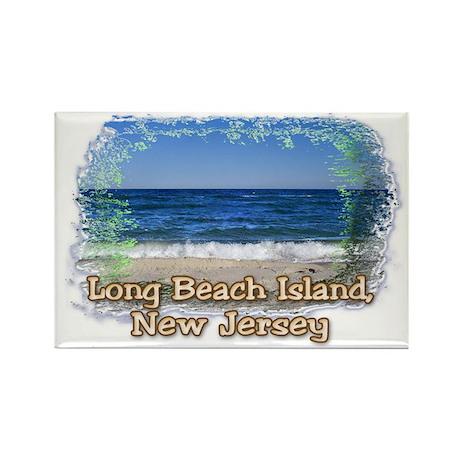 LBI Oceanside... Rectangle Magnet (10 pack)