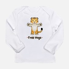 Free Tiger Hugs Long Sleeve T-Shirt