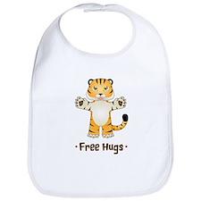 Free Tiger Hugs Bib