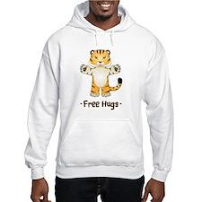 Free Tiger Hugs Hoodie