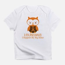 Big Sister Leukemia Support Infant T-Shirt