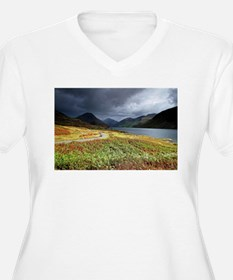 Wastwater storm clouds Plus Size T-Shirt