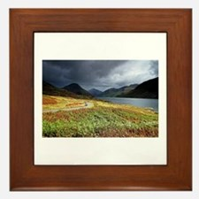 Wastwater storm clouds Framed Tile