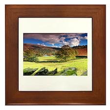 Rydal View Framed Tile