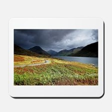 Wastwater storm clouds Mousepad
