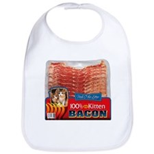 """Kitten Bacon"" Bib (Everyone loves Kittens!)"